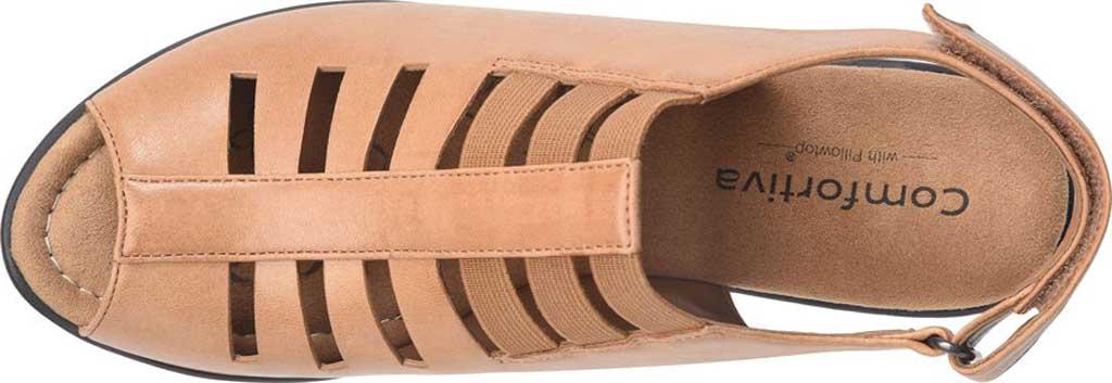 Women's Comfortiva Faye Slingback, Desert Tan Full Grain Leather, large, image 3