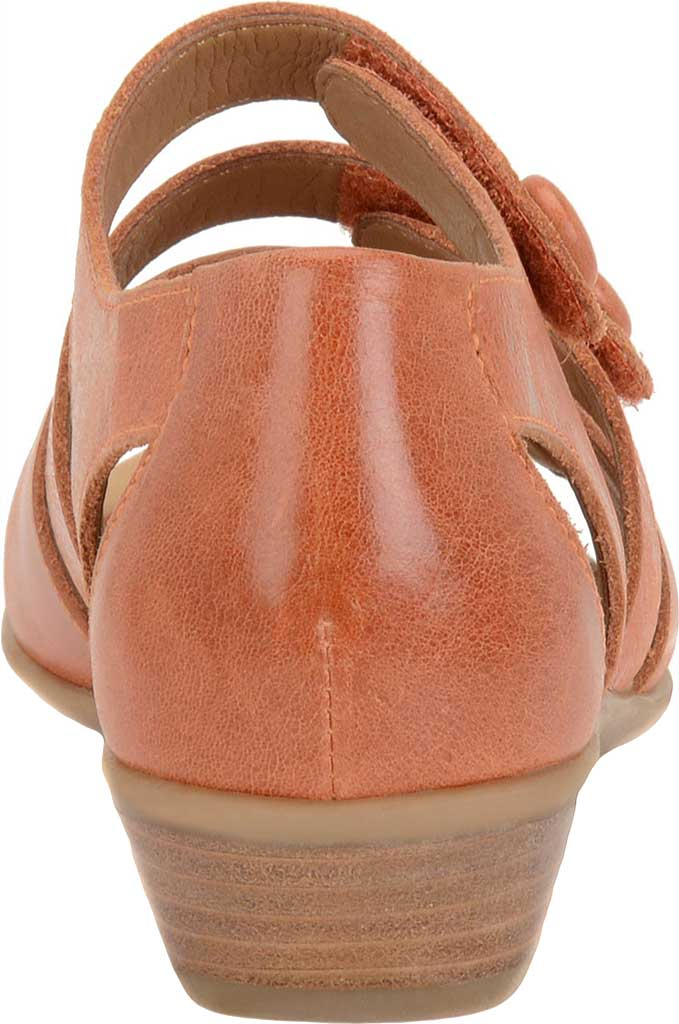 Women's Comfortiva Reading Strappy Sandal, Poppy Orange Montana Leather, large, image 4