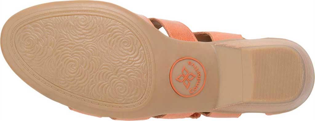 Women's Comfortiva Reading Strappy Sandal, Poppy Orange Montana Leather, large, image 6