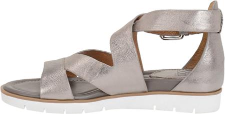 Women's Sofft Mirabelle Sandal, Anthracite Metallic, large, image 3