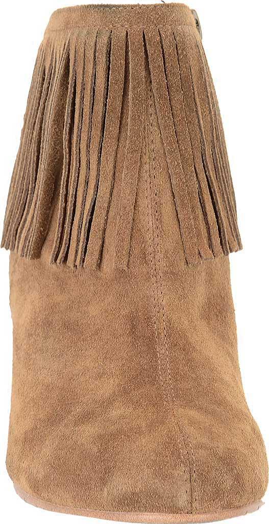 Women's Comfortiva Riverton Fringed Ankle Boot, Desert Tan Velour Suede, large, image 4