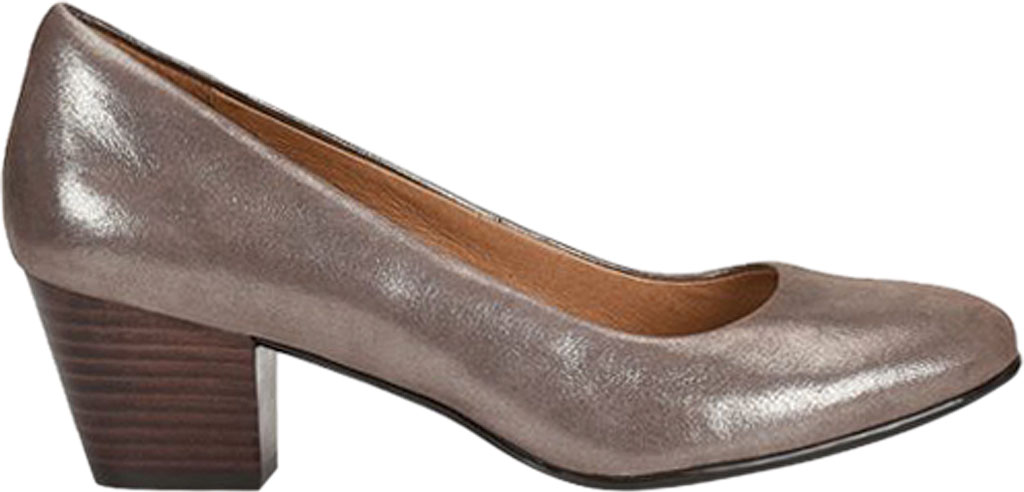Women's Sofft Lindon Pump, Metallic Taupe Leather, large, image 2