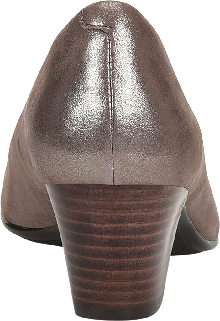 Women's Sofft Lindon Pump, Metallic Taupe Leather, large, image 4