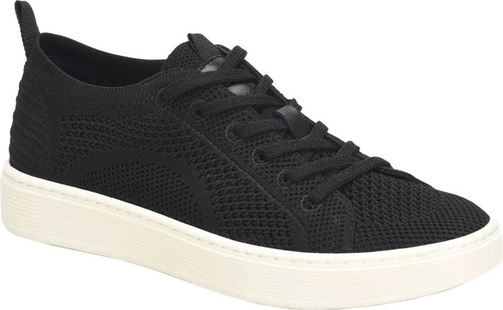 Women's Sofft Somers Knit Sneaker, Black Knit/Mesh, large, image 1