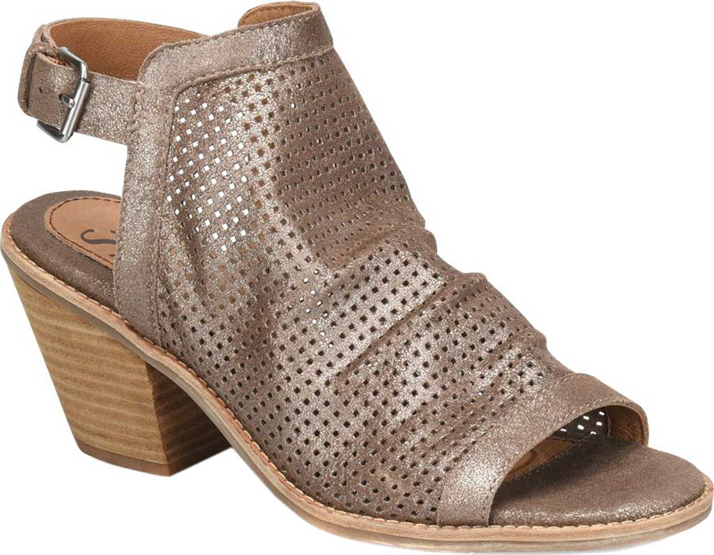 Women's Sofft Milly Slingback Bootie, Bronze Italian Leather, large, image 1