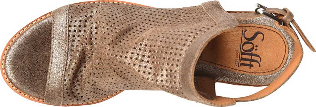 Women's Sofft Milly Slingback Bootie, Bronze Italian Leather, large, image 3