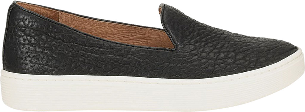 Women's Sofft Somers Slip-On Sneaker, Black Tumbled Smooth Leather, large, image 2