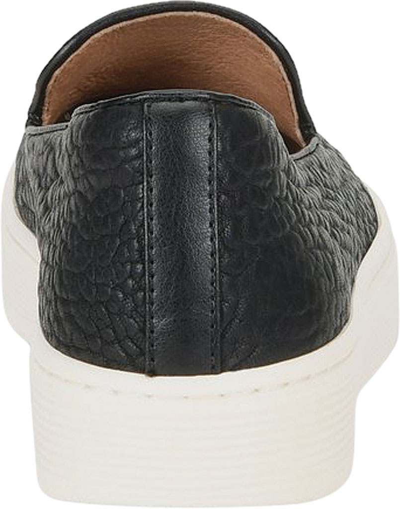 Women's Sofft Somers Slip-On Sneaker, Black Tumbled Smooth Leather, large, image 3