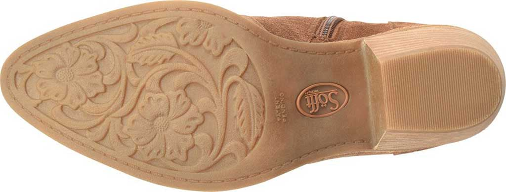 Women's Sofft Westmont II Embroidered Bootie, Light Brown Floral Embroidered Cow Suede, large, image 5