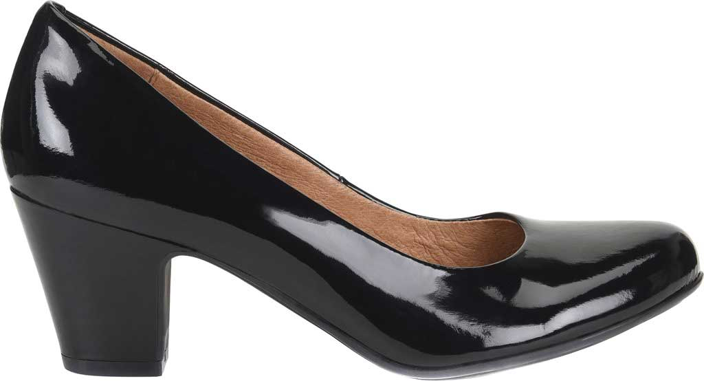 Women's Sofft Myka Pump, Black Patent Leather, large, image 2