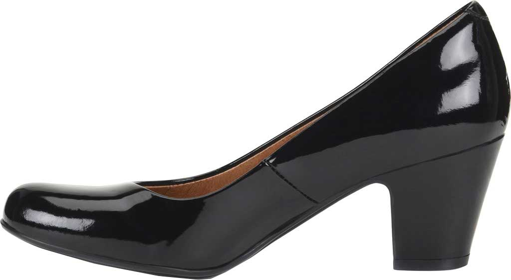 Women's Sofft Myka Pump, Black Patent Leather, large, image 3