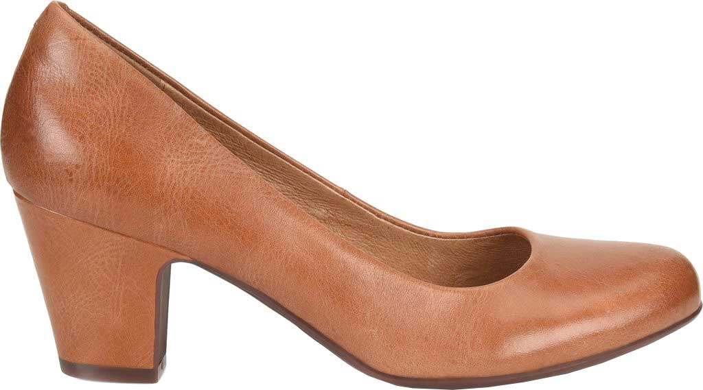 Women's Sofft Myka Pump, Cork Smooth Leather, large, image 2