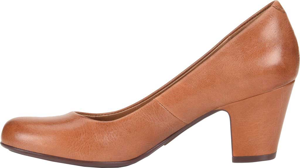 Women's Sofft Myka Pump, Cork Smooth Leather, large, image 3