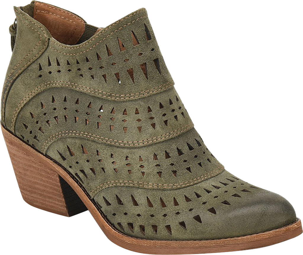 Women's Sofft Westwood II Bootie, Olive Oiled Cow Suede, large, image 1