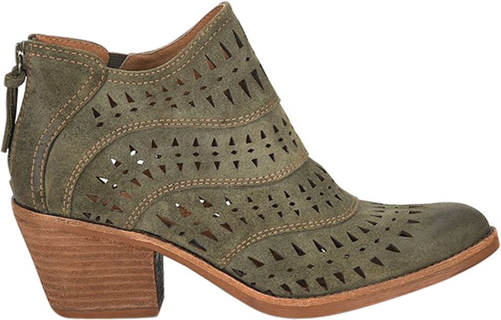 Women's Sofft Westwood II Bootie, Olive Oiled Cow Suede, large, image 2