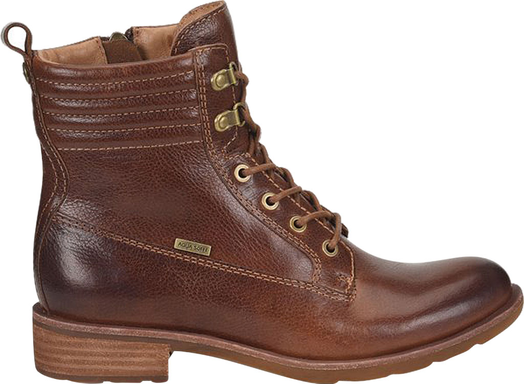 Women's Sofft Baxter Lace Up Boot, Whiskey Aqua Sofft Waterproof Leather, large, image 2