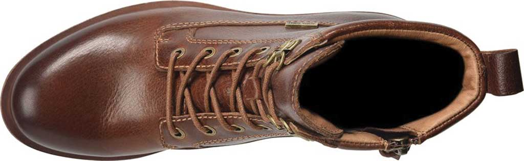 Women's Sofft Baxter Lace Up Boot, Whiskey Aqua Sofft Waterproof Leather, large, image 4