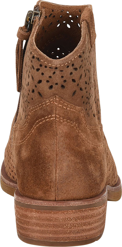 Women's Sofft Brooklee Perforated Ankle Bootie, Light Brown Cow Suede, large, image 4