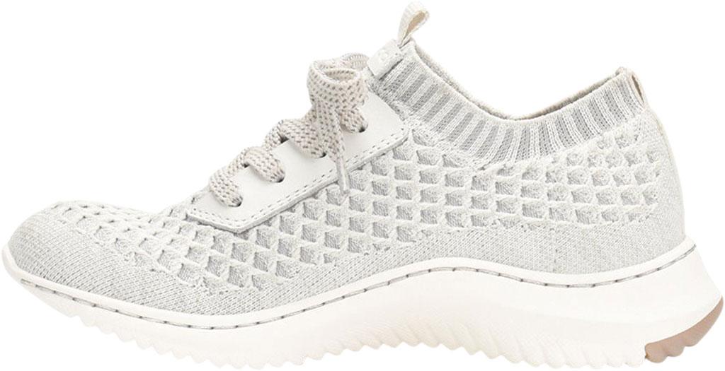 Women's Bionica Onie Knit Sneaker, White/Grey Knit Mesh, large, image 3
