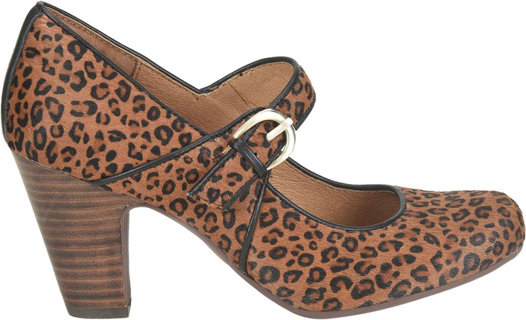 Women's Sofft Miranda Mary Jane, Cognac Leopard Horse Hair, large, image 2