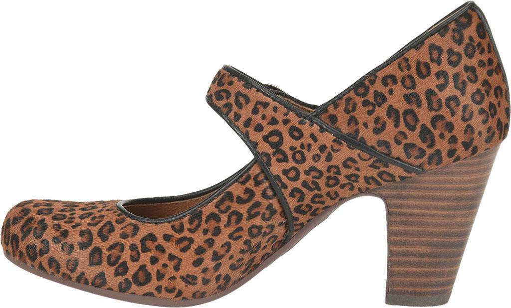 Women's Sofft Miranda Mary Jane, Cognac Leopard Horse Hair, large, image 3