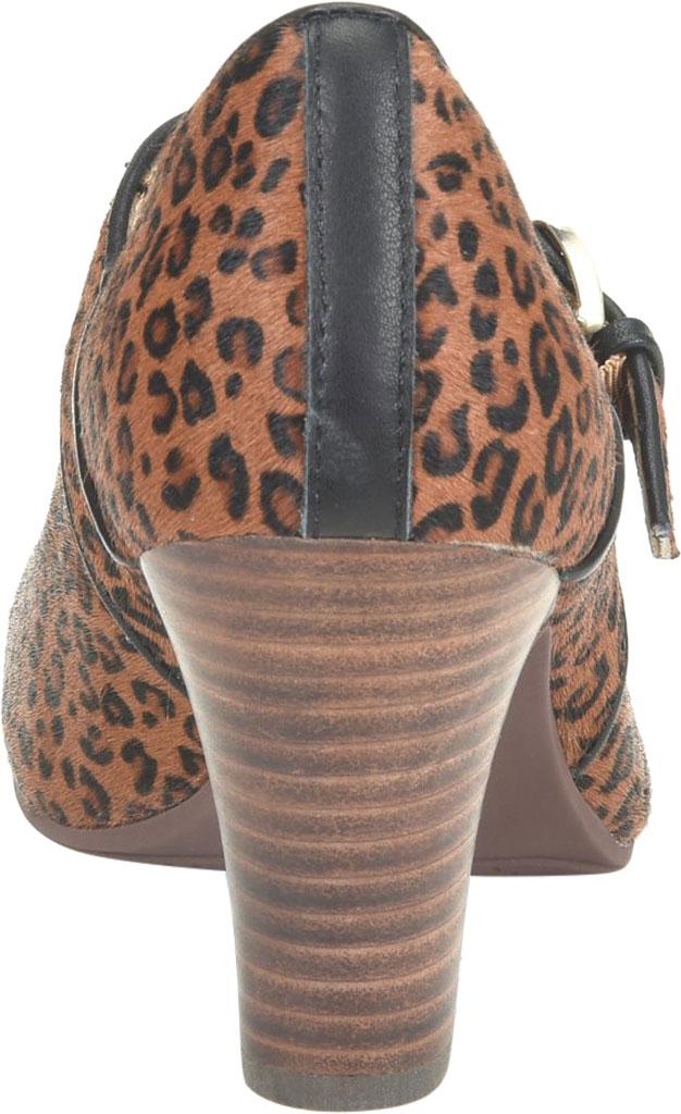 Women's Sofft Miranda Mary Jane, Cognac Leopard Horse Hair, large, image 4