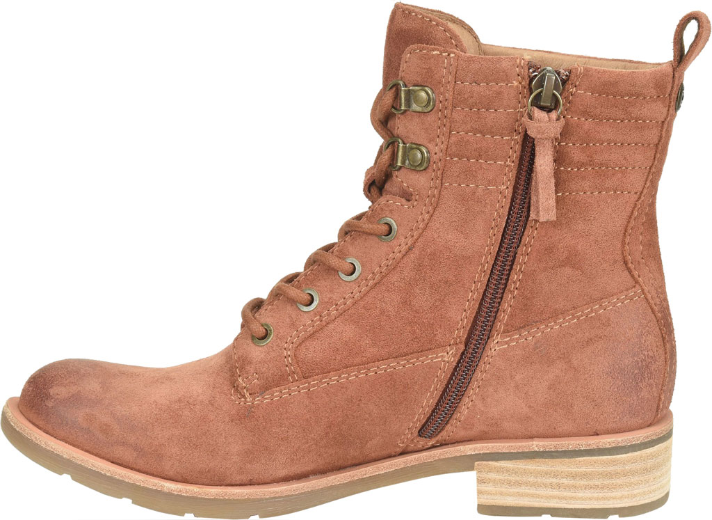 Women's Sofft Baxter Lace Up Boot, Redwood Waterproof Suede, large, image 3