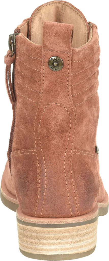 Women's Sofft Baxter Lace Up Boot, Redwood Waterproof Suede, large, image 4