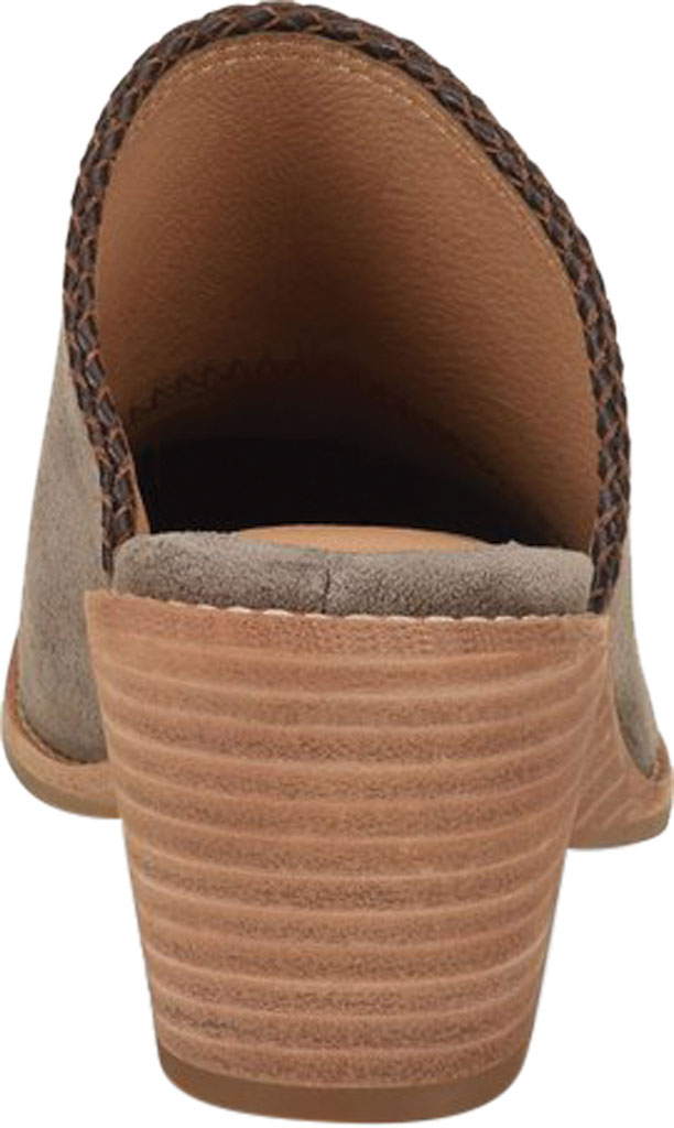 Women's Sofft Samarie Mule, Taupe Oiled Cow Suede, large, image 4
