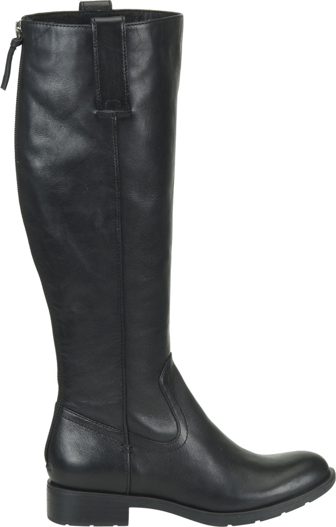 Women's Sofft Samantha Knee High Riding Boot, Black Duster Leather, large, image 2