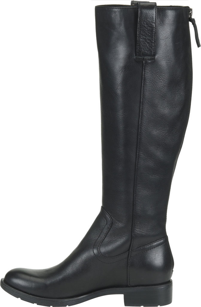 Women's Sofft Samantha Knee High Riding Boot, Black Duster Leather, large, image 3
