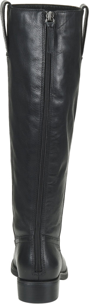 Women's Sofft Samantha Knee High Riding Boot, Black Duster Leather, large, image 4