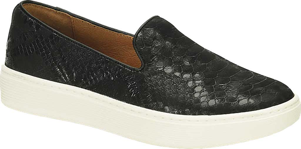 Women's Sofft Somers Slip-On, Black Snake Leather, large, image 1