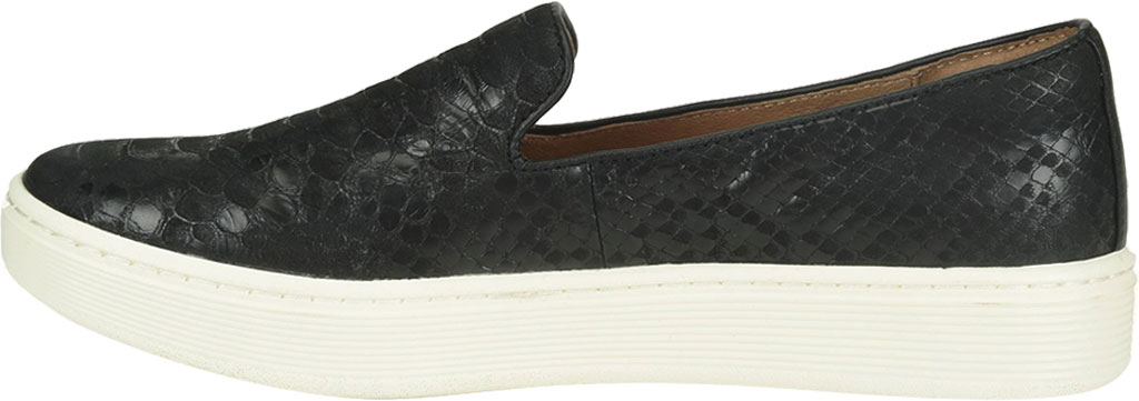 Women's Sofft Somers Slip-On, Black Snake Leather, large, image 3