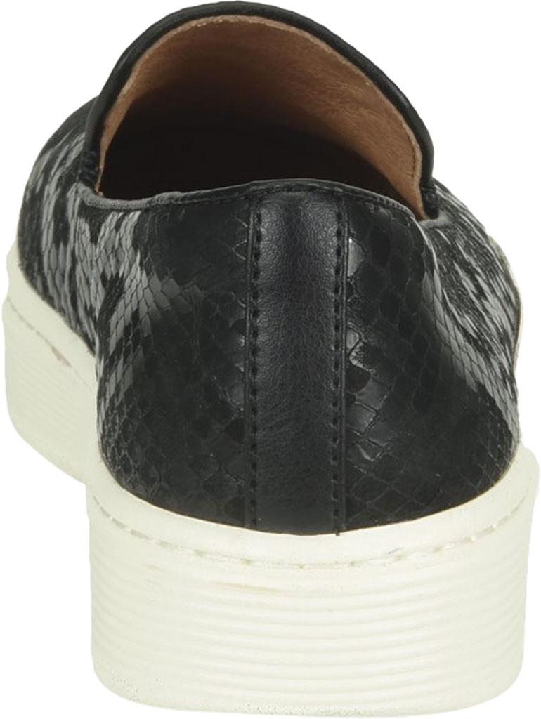 Women's Sofft Somers Slip-On, Black Snake Leather, large, image 4