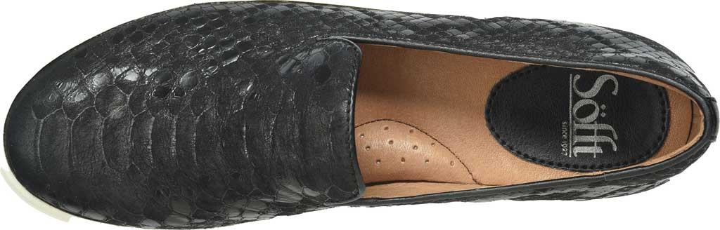 Women's Sofft Somers Slip-On, Black Snake Leather, large, image 5