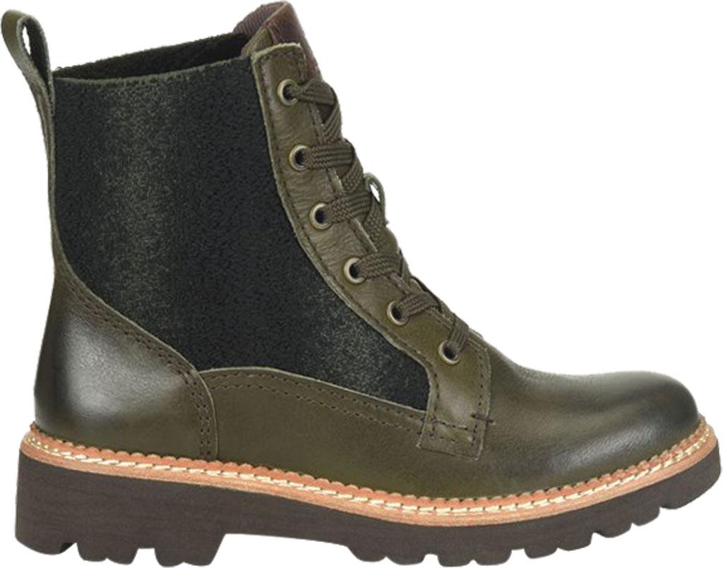Women's Bionica Derinda Waterproof Boot, Dark Olive Duster Waterproof Leather, large, image 2