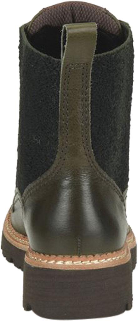 Women's Bionica Derinda Waterproof Boot, Dark Olive Duster Waterproof Leather, large, image 4