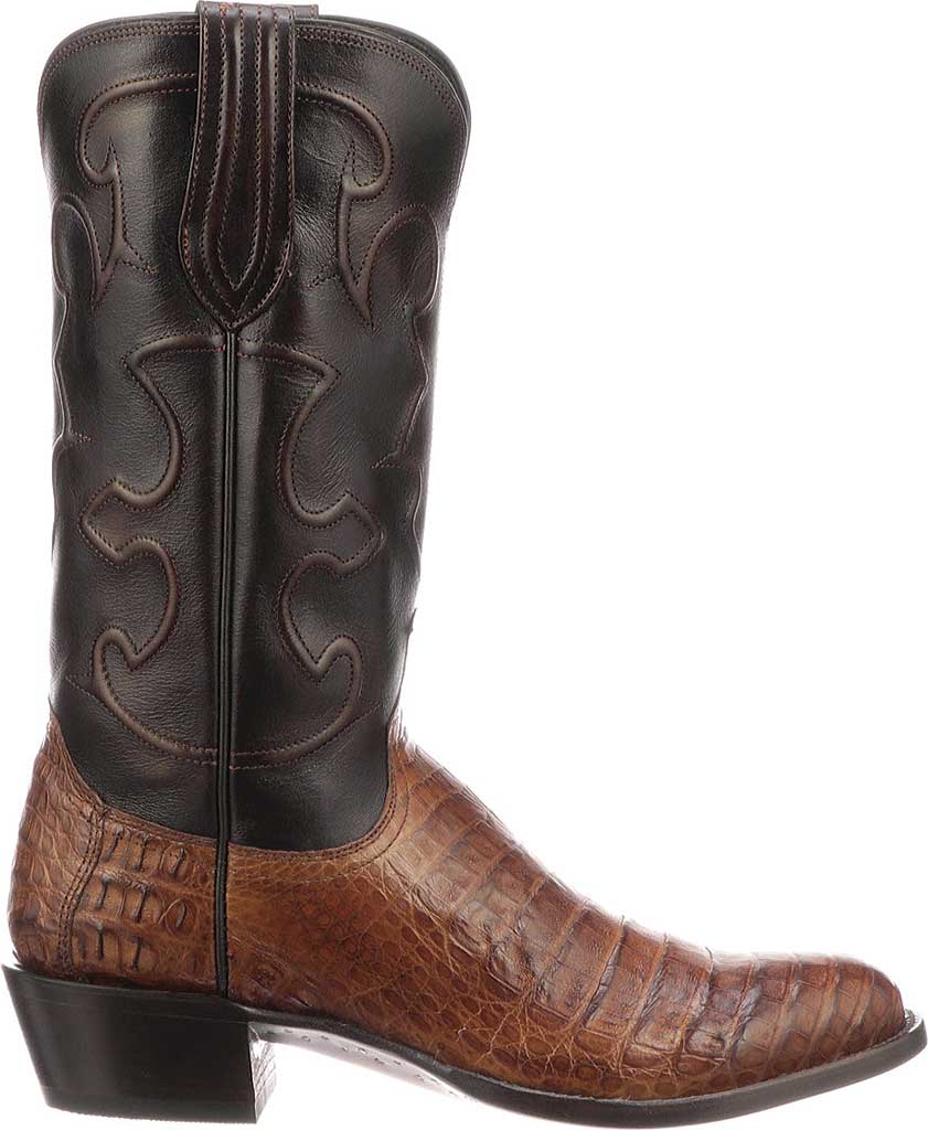 Men's Lucchese Bootmaker M1635.R4 Rounded Toe Cowboy Heel Boot, , large, image 2