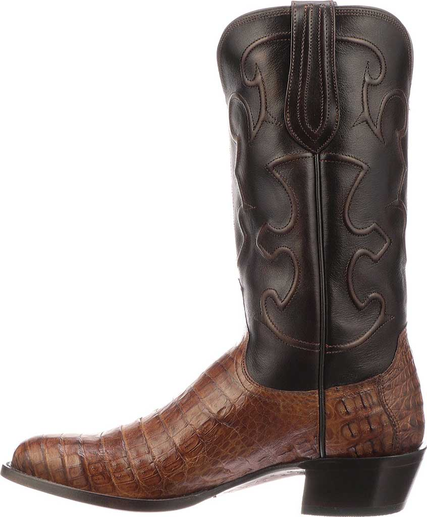 Men's Lucchese Bootmaker M1635.R4 Rounded Toe Cowboy Heel Boot, , large, image 3