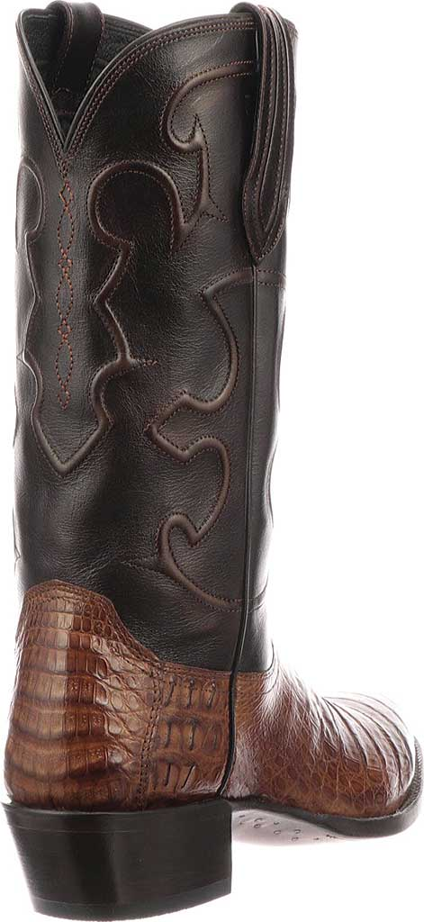Men's Lucchese Bootmaker M1635.R4 Rounded Toe Cowboy Heel Boot, , large, image 5