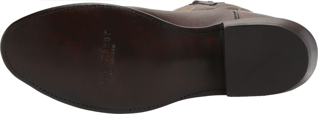 Men's Lucchese Bootmaker Milo R Toe Western Boot, Antique Dark Brown Goat, large, image 6