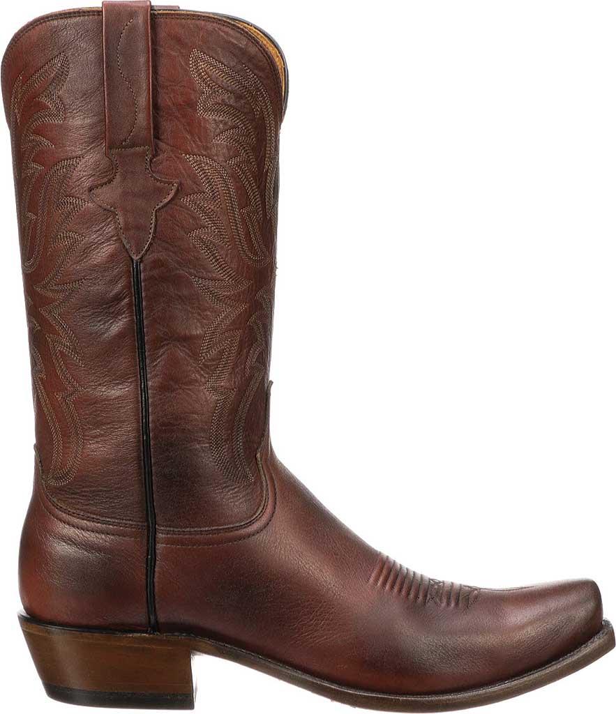 Men's Lucchese Bootmaker Milo 7 Toe Western Boot, Antique Pearwood Goat, large, image 2