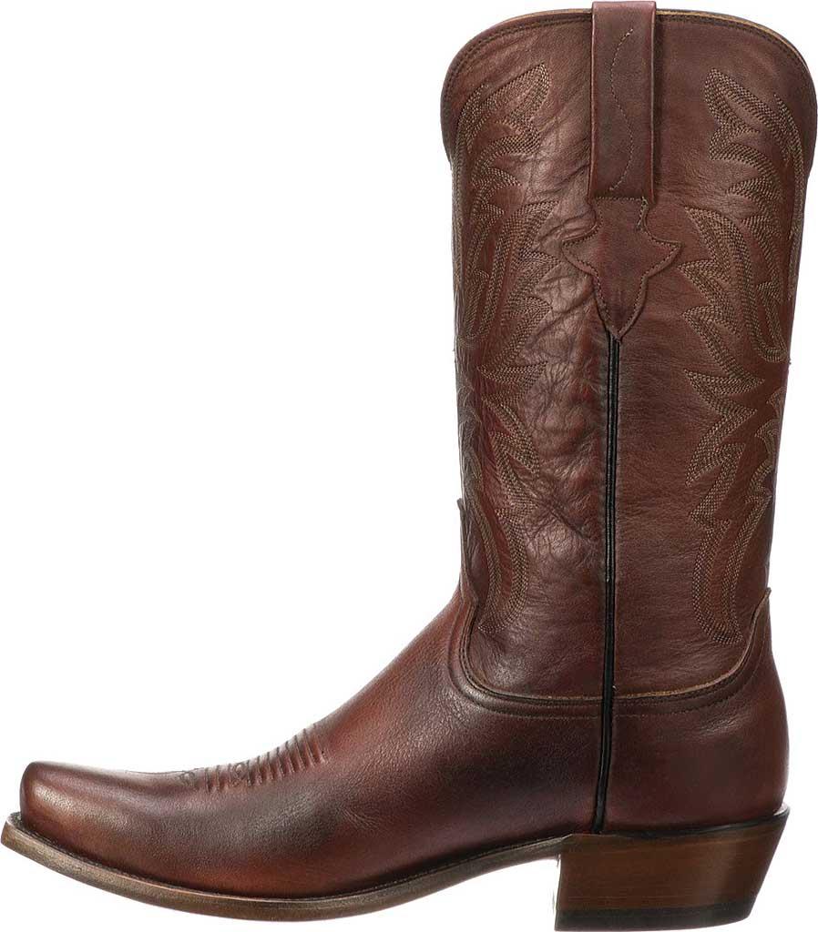 Men's Lucchese Bootmaker Milo 7 Toe Western Boot, Antique Pearwood Goat, large, image 3