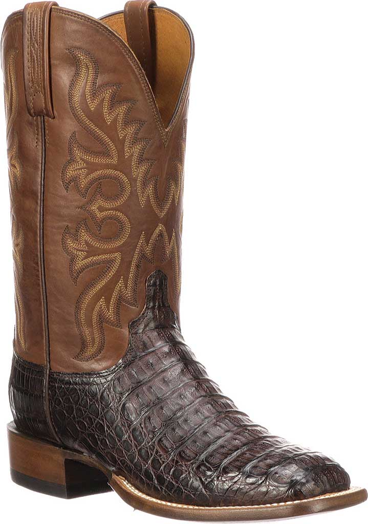 Men's Lucchese Bootmaker Fisher W Toe Cowboy Boot, , large, image 1