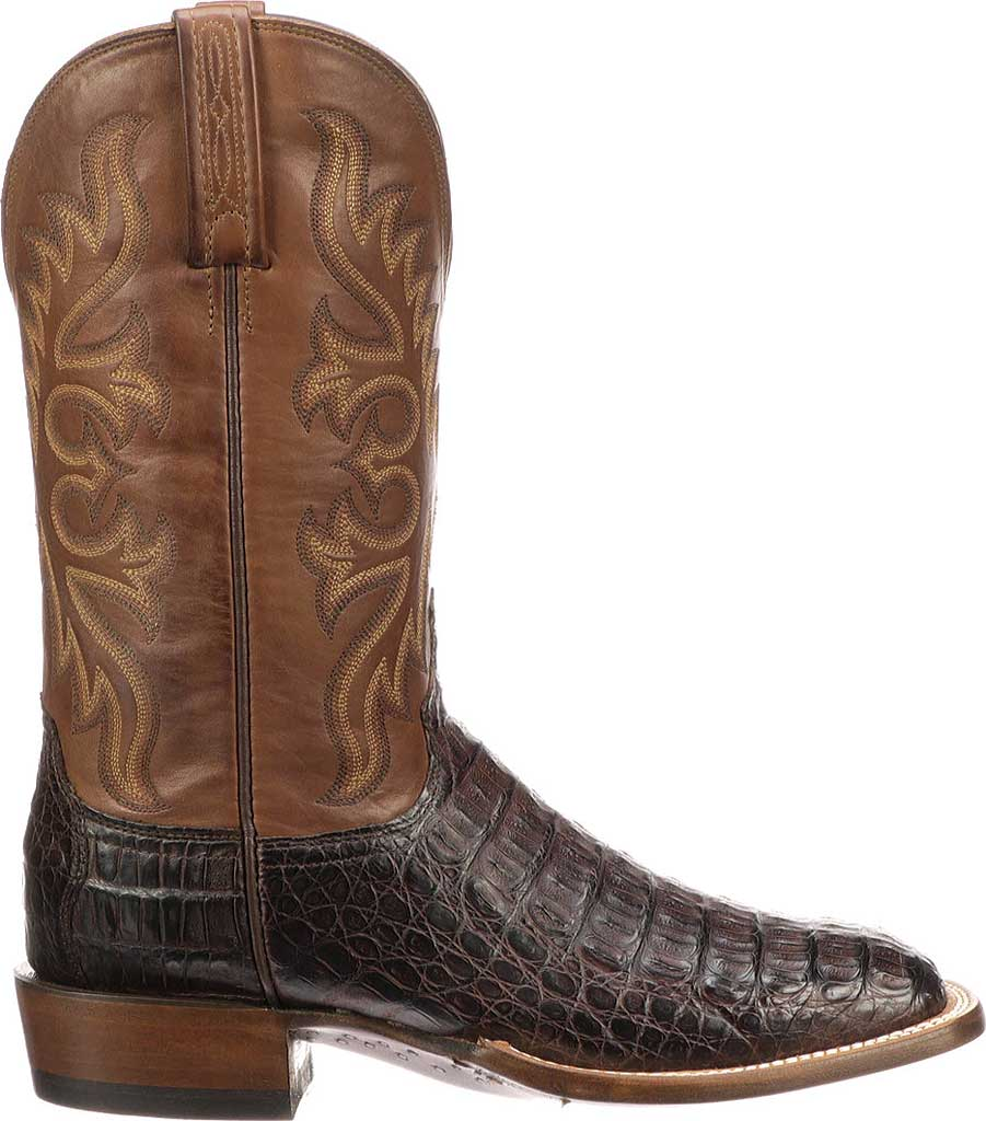 Men's Lucchese Bootmaker Fisher W Toe Cowboy Boot, , large, image 2