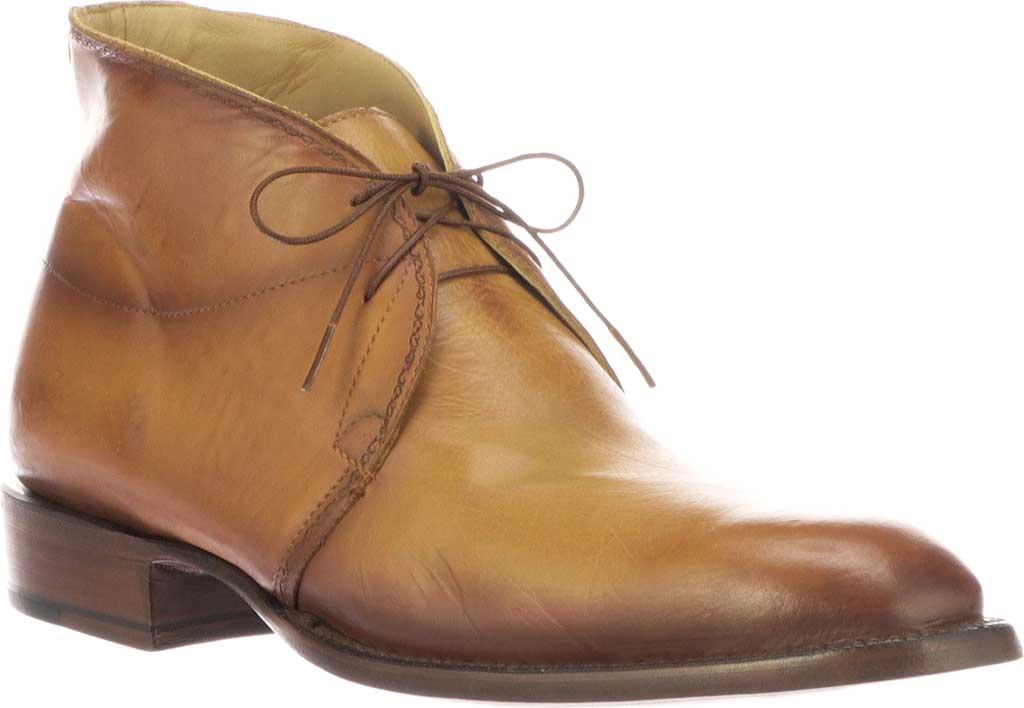 Men's Lucchese Bootmaker Evan Chukka Boot, Light Brown Royal Calf, large, image 1