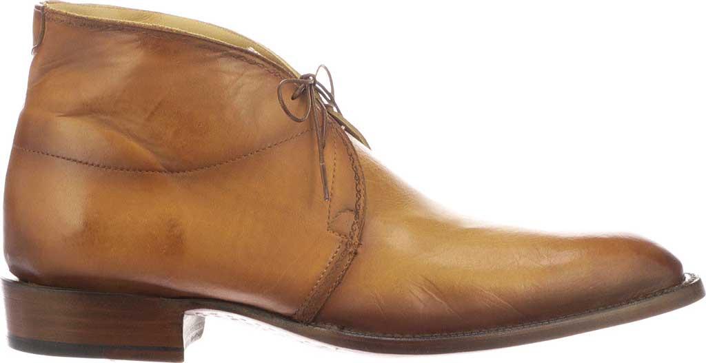 Men's Lucchese Bootmaker Evan Chukka Boot, Light Brown Royal Calf, large, image 2