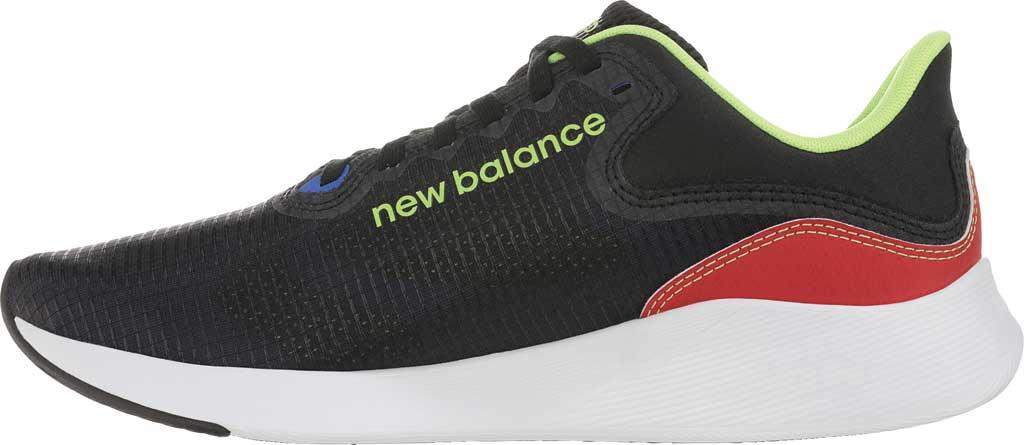 Men's New Balance BREAZA Fresh Foam Running Sneaker, Black/Bleached Lime Glo, large, image 3