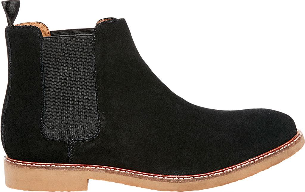 Men's Steve Madden Highline Chelsea Boot, Black Suede, large, image 2
